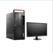 联想/Lenovo ThinkCentre M720t-D299+T2224rbA(21.5英寸) 台式计算机